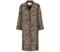 Mantel aus Leinen und Baumwolle