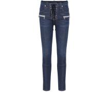Jeans mit Schnürung