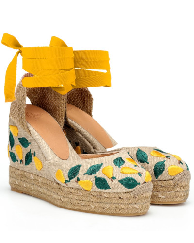Wedges Carina aus Canvas