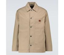 Hemdjacke aus einem Baumwollgemisch
