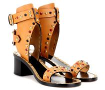 Sandaletten Jaeryn aus Leder