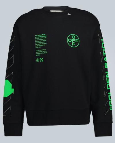 Sweatshirt mit abstraktem Logo