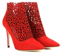 Ankle Boots Maurice 100 aus Veloursleder