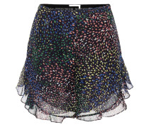 Shorts aus einem Baumwoll-Seidengemisch