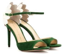 Sandaletten Marge 100 aus Veloursleder