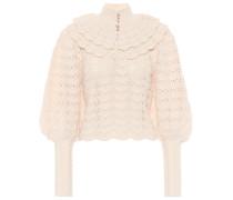Pullover Ladybeetle aus Merinowolle