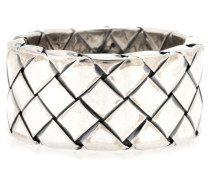 Intrecciato-Ring aus Silber