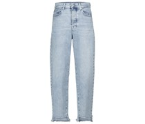 High-Rise Tapered Jeans Dylan