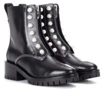 Ankle Boots Hayett aus Leder
