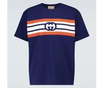 Bedrucktes T-Shirt GG aus Baumwolle