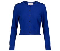 Cropped Cardigan aus Wolle
