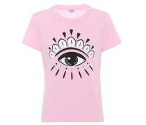 Bedrucktes T-Shirt Eye aus Baumwolle