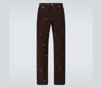 Bootcut Jeans aus Cord