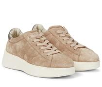 Sneakers Rebel H564 aus Veloursleder