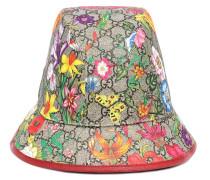 Hut aus Canvas und Leder