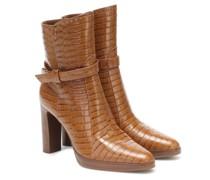 Ankle Boots Adee aus Leder