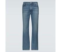 Slim-Fit Jeans mit Waschung
