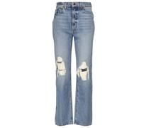 High-Rise Straight Jeans Abigail