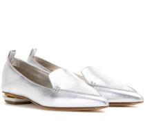 Slippers Beya Botalatto aus Metallic-Leder