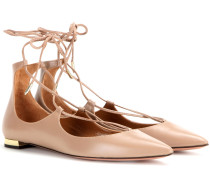 Ballerinas Christy aus Leder