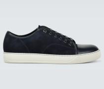 Sneakers aus Veloursleder und Leder