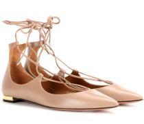 Ballerinas Christy Flat aus Leder