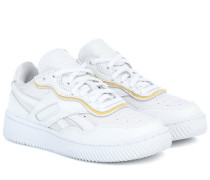 Sneakers Dual Court aus Leder
