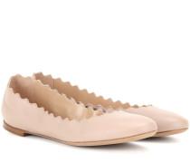 Ballerinas Lauren aus Leder