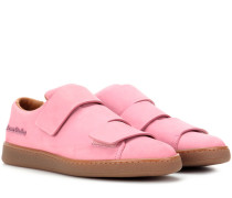 Sneakers Triple Nubuck aus Veloursleder