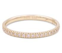 Ring Eternity aus 14kt Gelbgold mit Diamanten