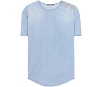 T-Shirt aus Chambray