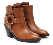Ankle Boots Eddy aus Leder