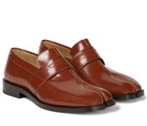 Loafers Tabi aus Leder