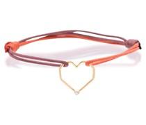 Armband Corazón Brillante aus 9kt Gold mit Diamant