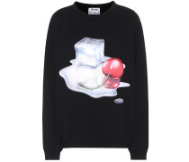Sweatshirt Flames aus Baumwolle