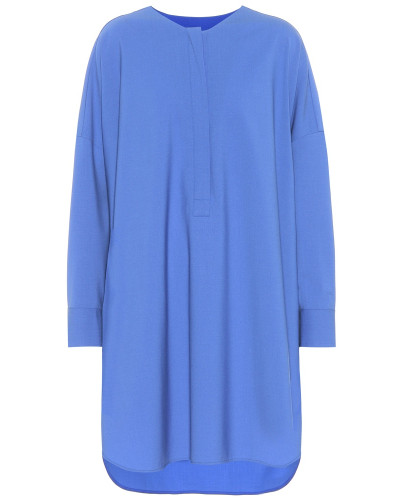 Oversize-Bluse Cottage aus Stretch-Wolle