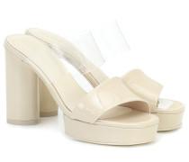 Sandalen Adela aus Lackleder