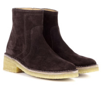Ankle Boots aus Kalbsleder