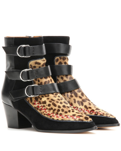 Ankle Boots Dickey aus Leder