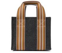 Tote The Suitcase Stripe Mini