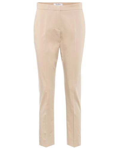 Skinny Hose aus Baumwolle