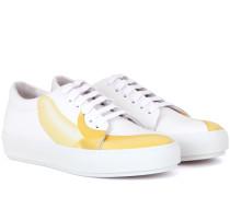 Sneakers Adriana Banana aus Leder