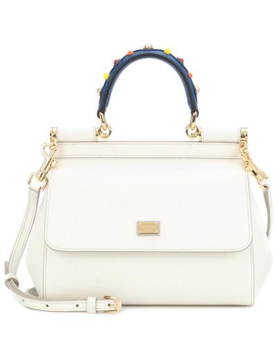 Bester Ort Vorbestellung Für Verkauf Dolce & Gabbana Damen Tasche Sicily Mini aus Leder TXHOZI