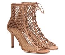 Ankle Boots Helena mit Lederdetails