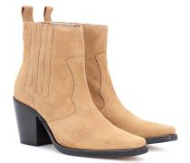 Exklusiv bei mytheresa.com – Ankle Boots Rita aus Veloursleder