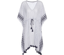 Tunikakleid Janessa aus bestickter Baumwolle