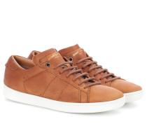 Sneakers SL/01 aus Leder