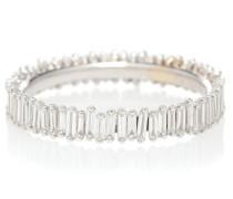 Ring Eternity aus 18kt Weißgold mit Diamanten