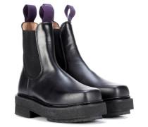 Ankle Boots Ortega aus Leder