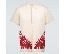 Verziertes Hemd Setting aus Baumwolle